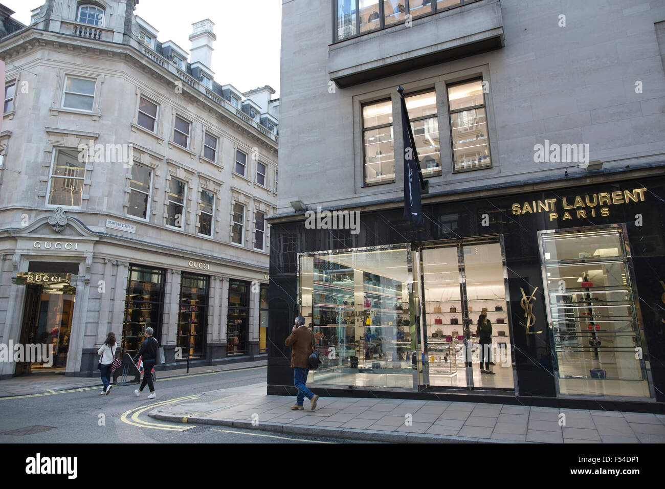 Saint laurent old bond street mayfair london england for Quartiere mayfair londra