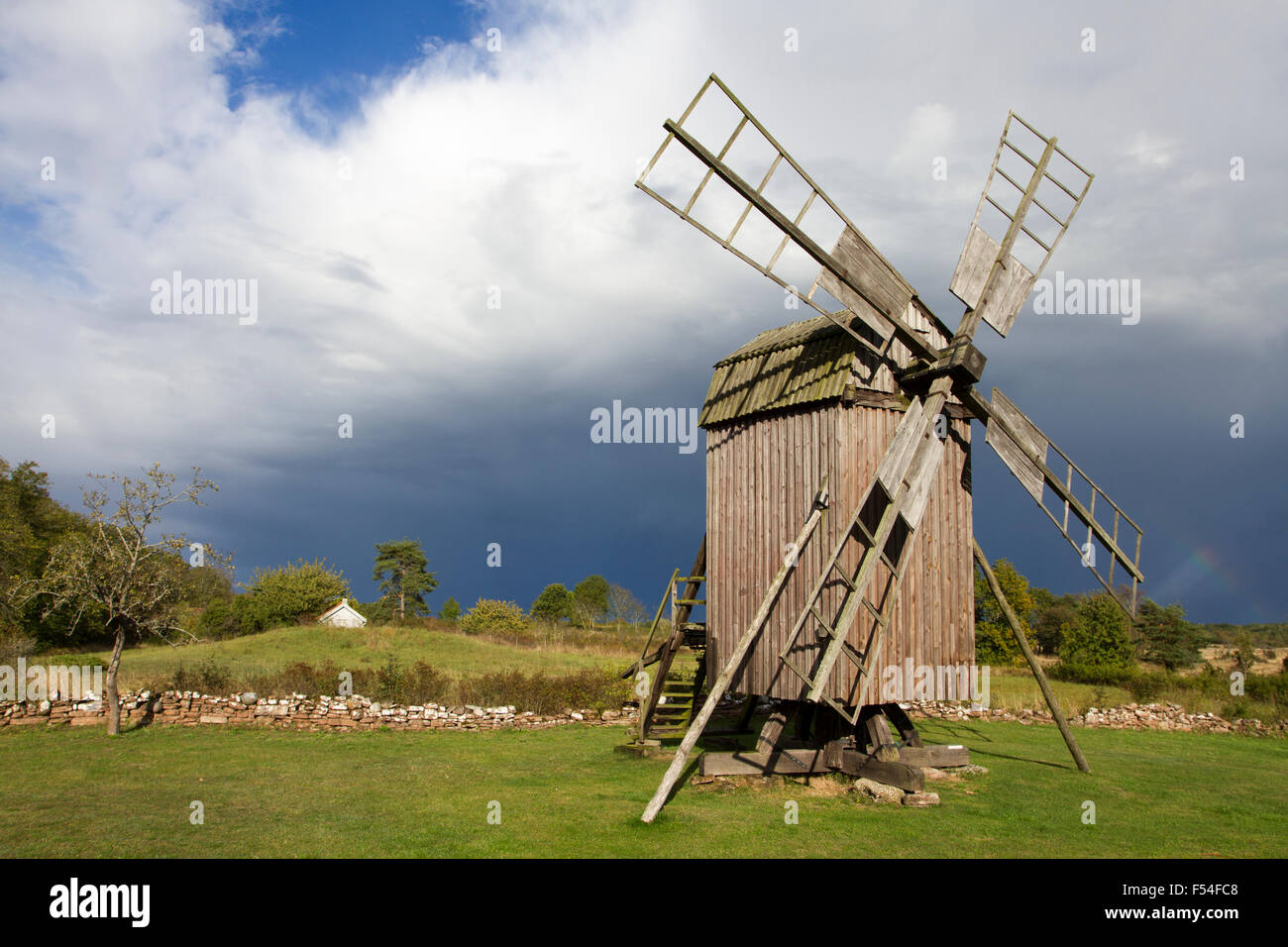 windmill - Stock Image