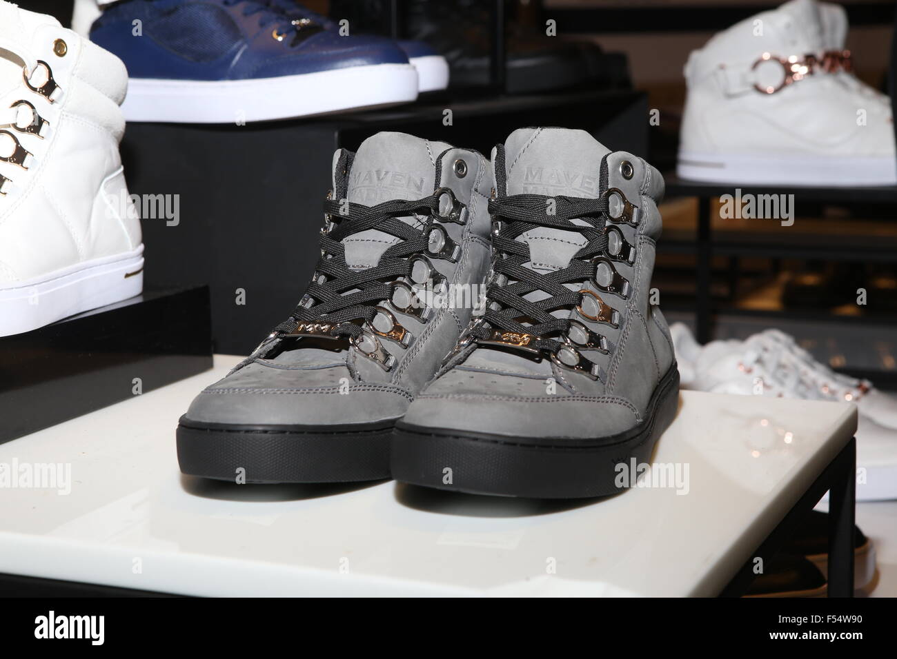 Designer Steve Madden and recording artist Ja Rule launch the release of  the Maven x Madden Men s Collection held at Macy s Herald Square Featuring   Sneaker ... 87f5c3986