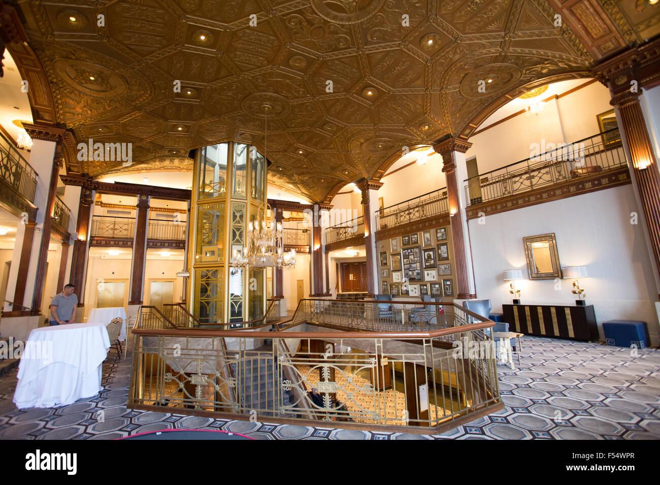providence biltmore hilton hotel - Stock Image