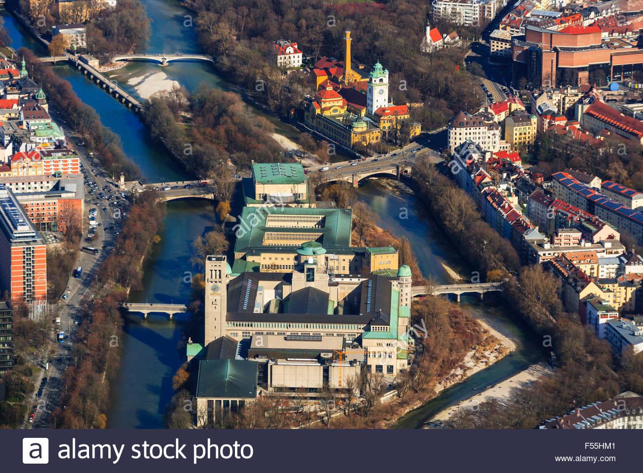 Germany, Bavaria, Munich, Deutsches Museum - Stock Image