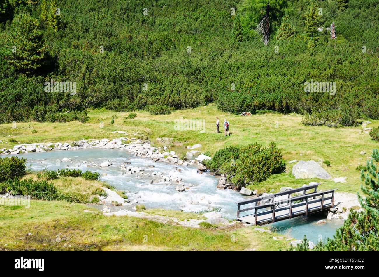 Zillertal High Alpine nature Park Hochgebirgs Naturpark near Ginzling, Tyrol, Austria Stock Photo