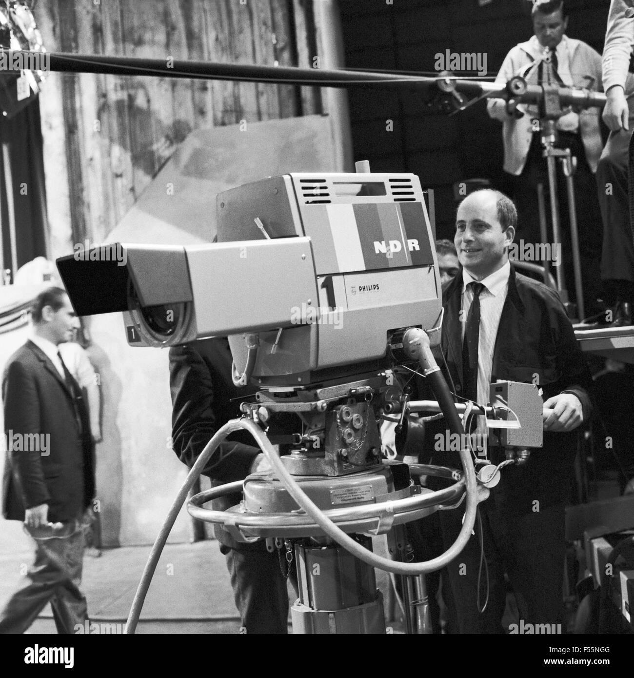 Kampf um Kautschik, Fernsehfilm, Deutschland 1967, Regie: Falk Harnack, Szenenfoto - Stock Image