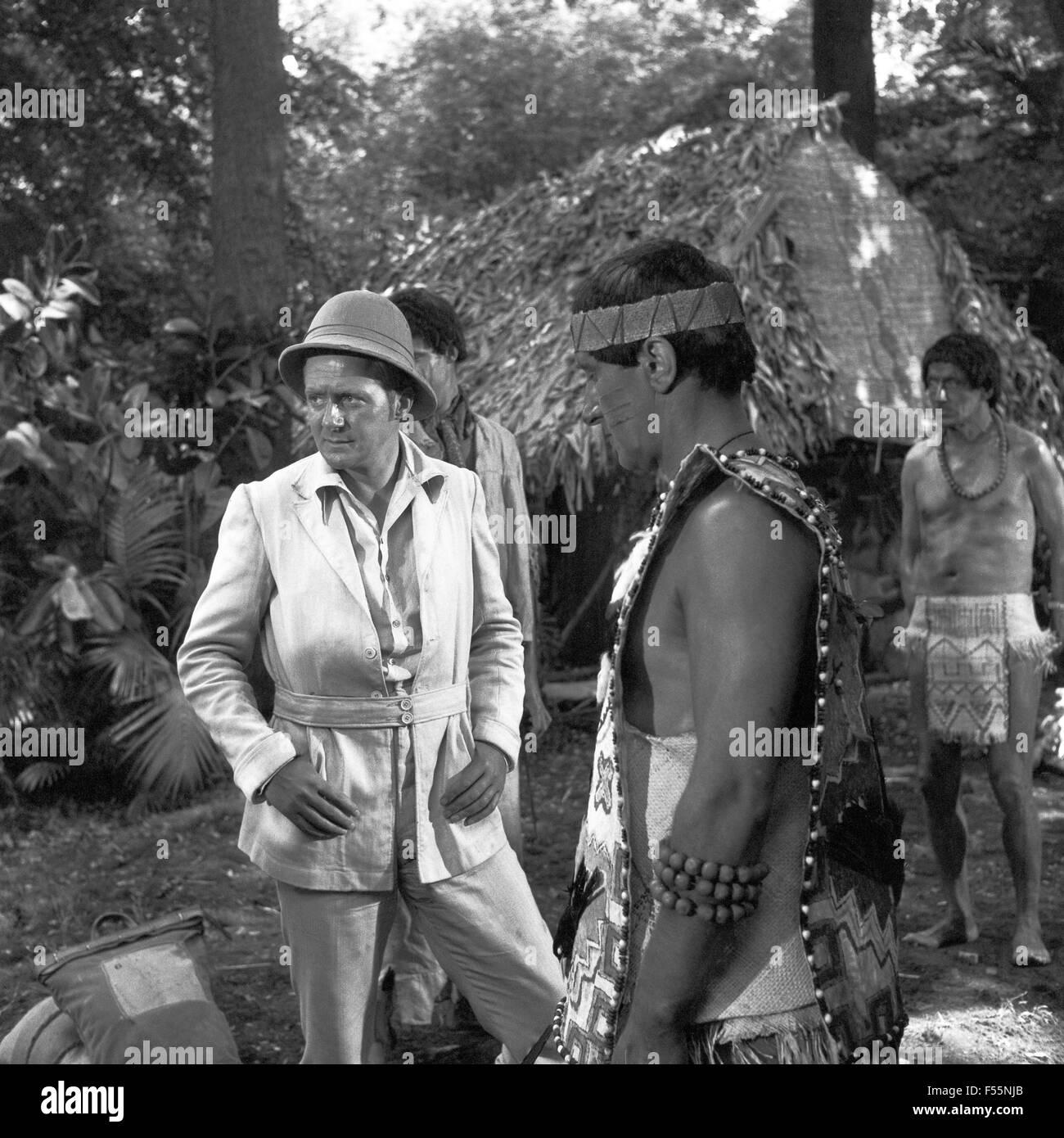 Kampf um Kautschuk, Fernsehfilm, Deutschland 1967, Regie: Falk Harnack, Szenenfoto Stock Photo