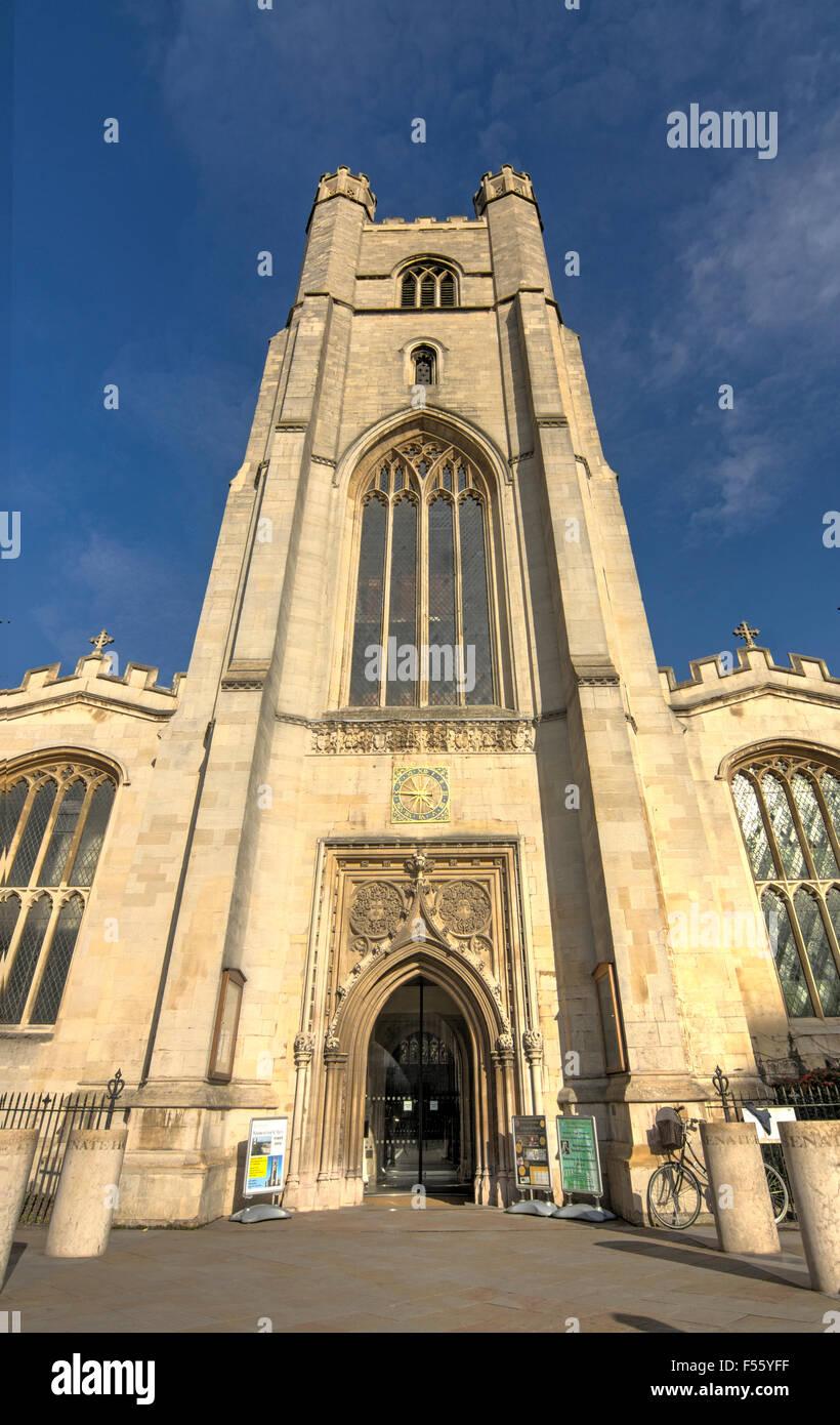 Great St Mary's Church  Cambridge - Stock Image