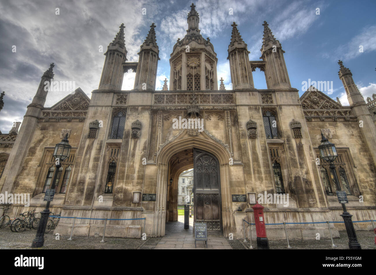 king's college Cambridge - Stock Image