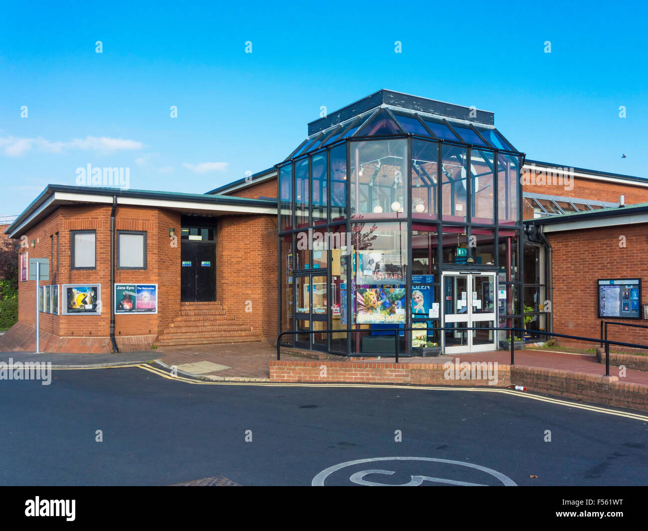 Hambleton Forum a Community Centre with facilities for Cinema Theatre Music and leisure activities in Northallerton Stock Photo
