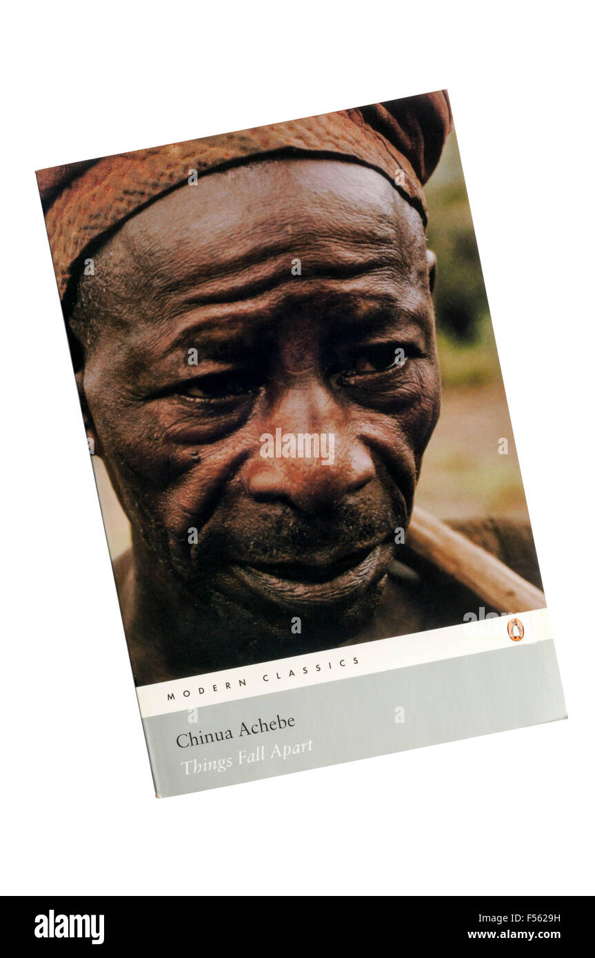 A paperback copy of Things Fall Apart by Chinua Achebe.  First published in 1958. - Stock Image