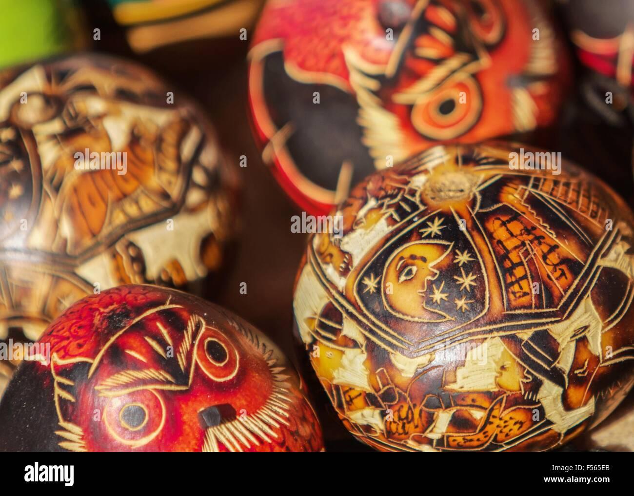 Souvenir from Uros island, Peru, Bolivia - Stock Image