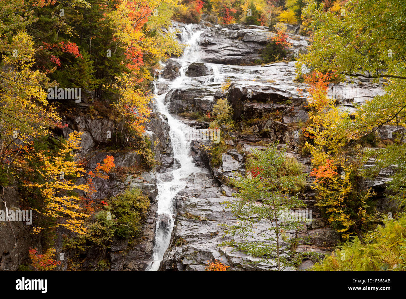 Arethusa Falls At Crawford Notch In New Hshire 9 21 13