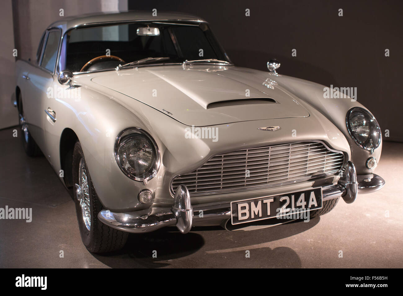 Aston Martin Db5 Used In The James Bond 2006 Casino Royale Film Stock Photo Alamy