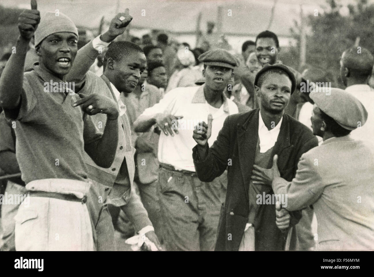 Young South Africans, Johannesburg, South Africa - Stock Image