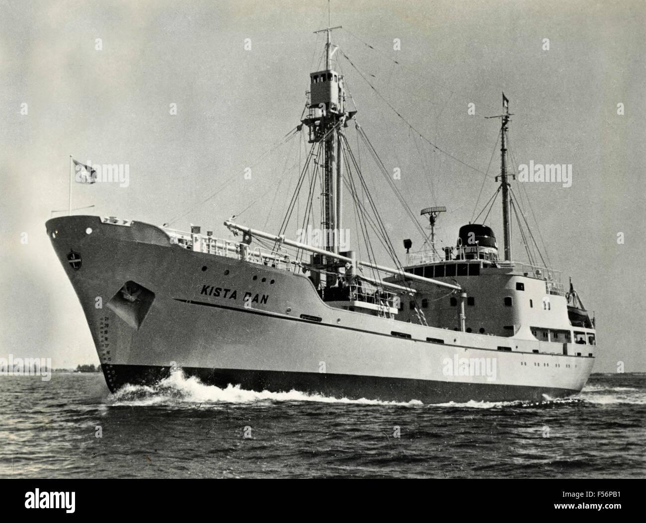 The polar ship Kista Dan - Stock Image