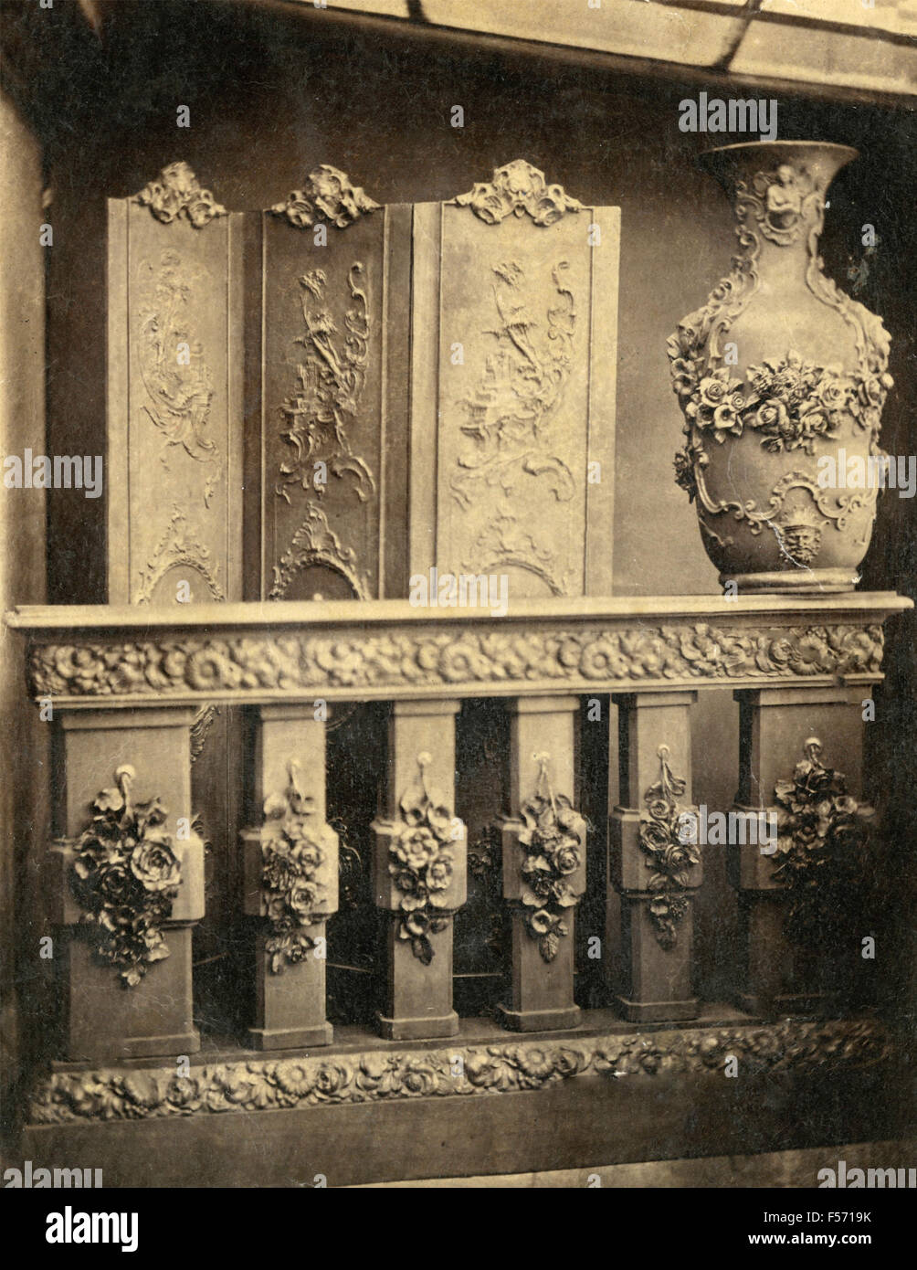 Architectural motifs unidentified - Stock Image