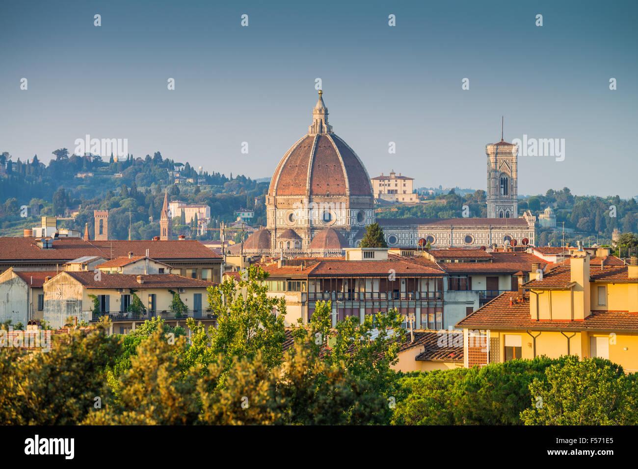 Santa Maria del Fiore, Florence, Tuscany, Italy. Stock Photo