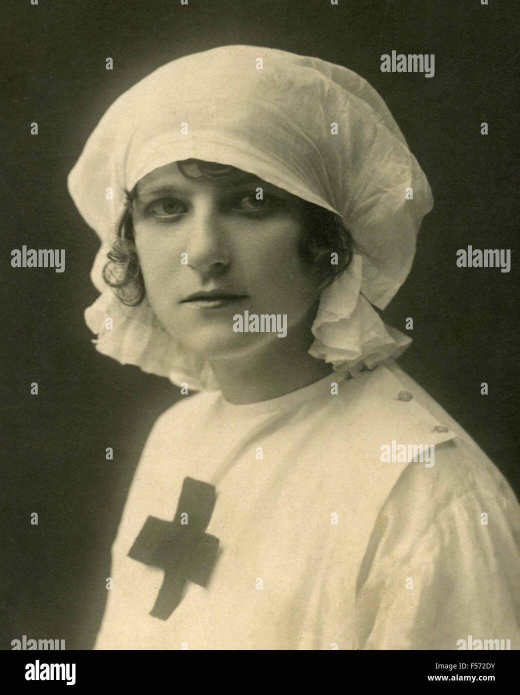 Red Cross of the Great War - Stock Image