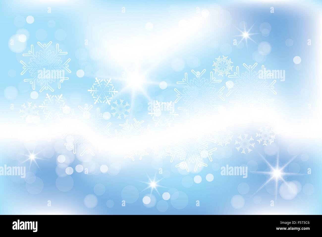 Template For A Christmas Card With Shimmering Design Elements Stars - Christmas card template blue
