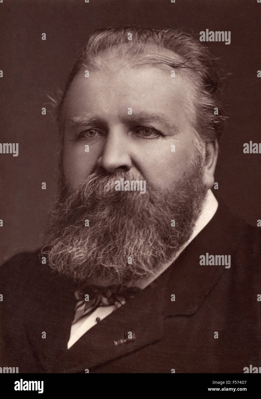 Jules-Etienne Pasdeloup, founder of the Popular Concerts - Stock Image