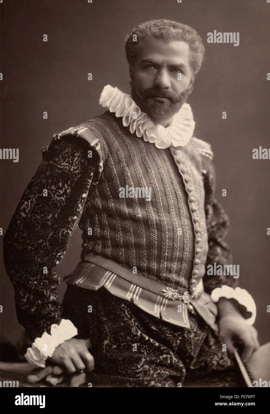 The French actor Frédéric Febvre of the Comedie Francaise Stock Photo