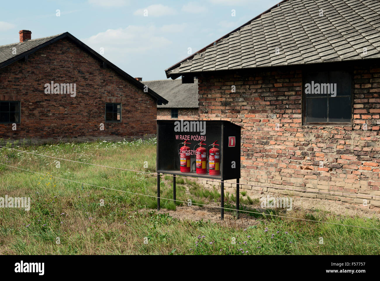 Poland, Birkenau camp - Stock Image
