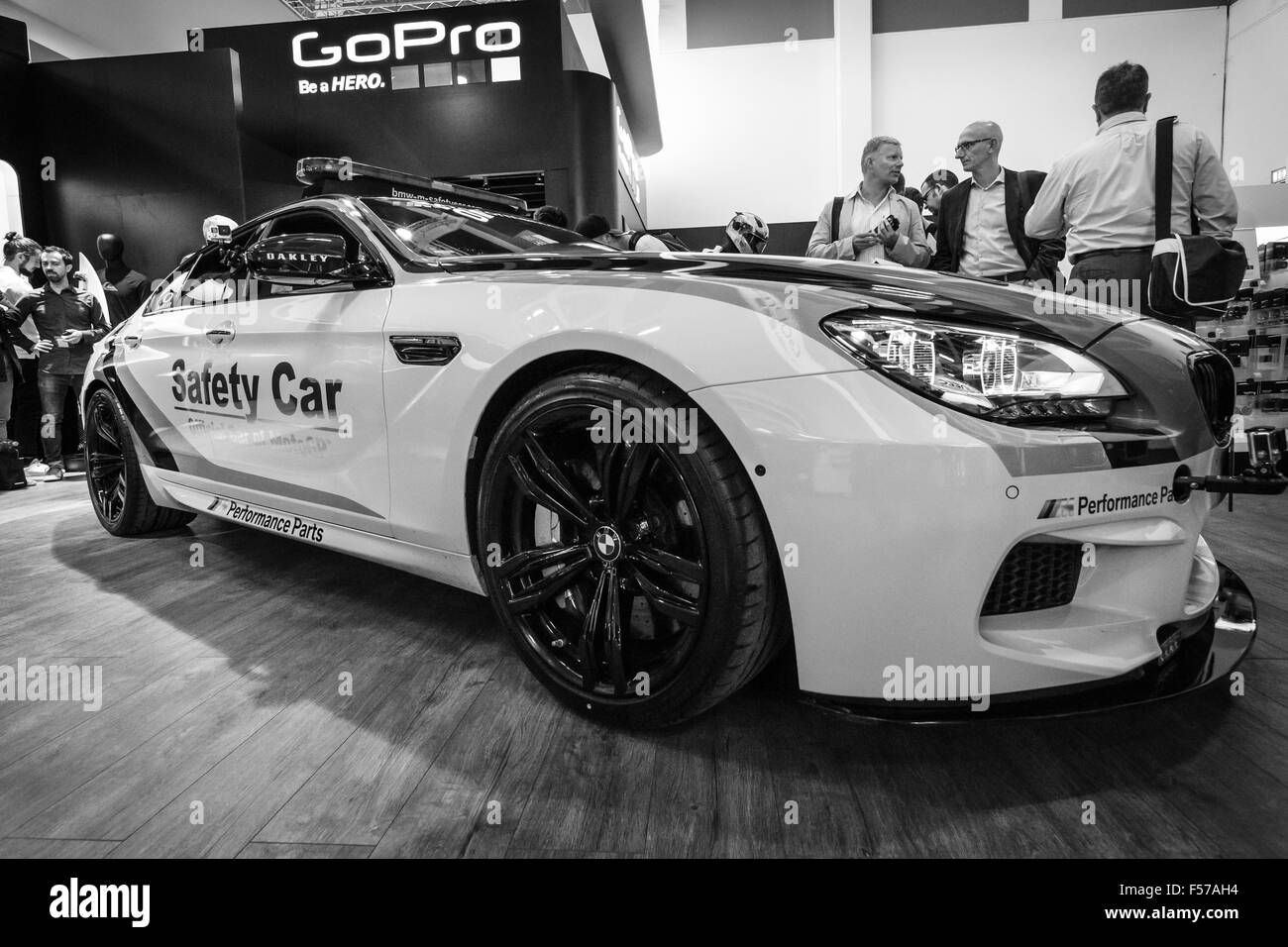Stand By Gopro Safety Car Bmw M4 Coupe Dtm Black And White