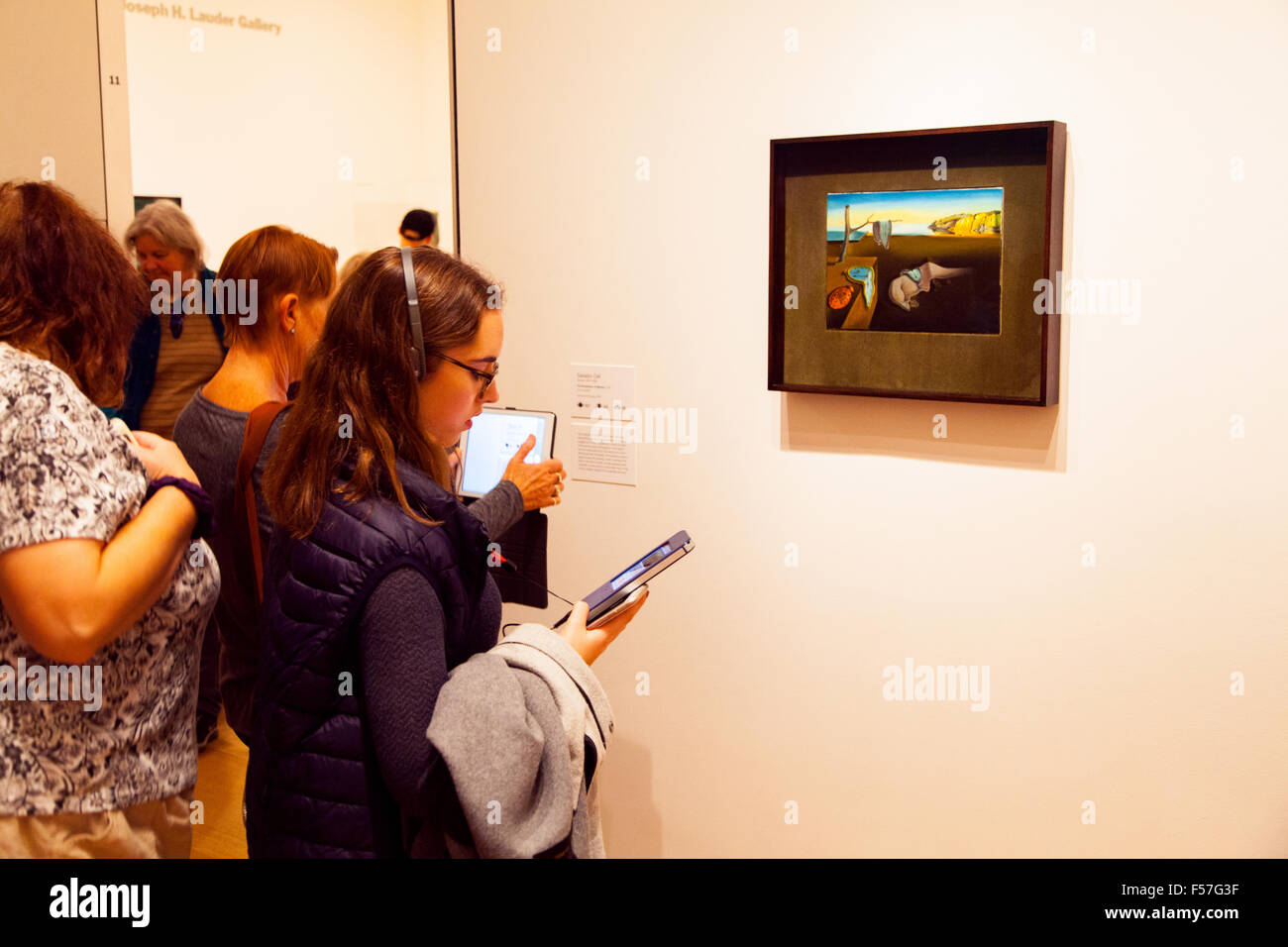Salvador Dali, The Persistence of Memory (1931) ,MoMA The Museum of Modern Art, New York city, United States of - Stock Image