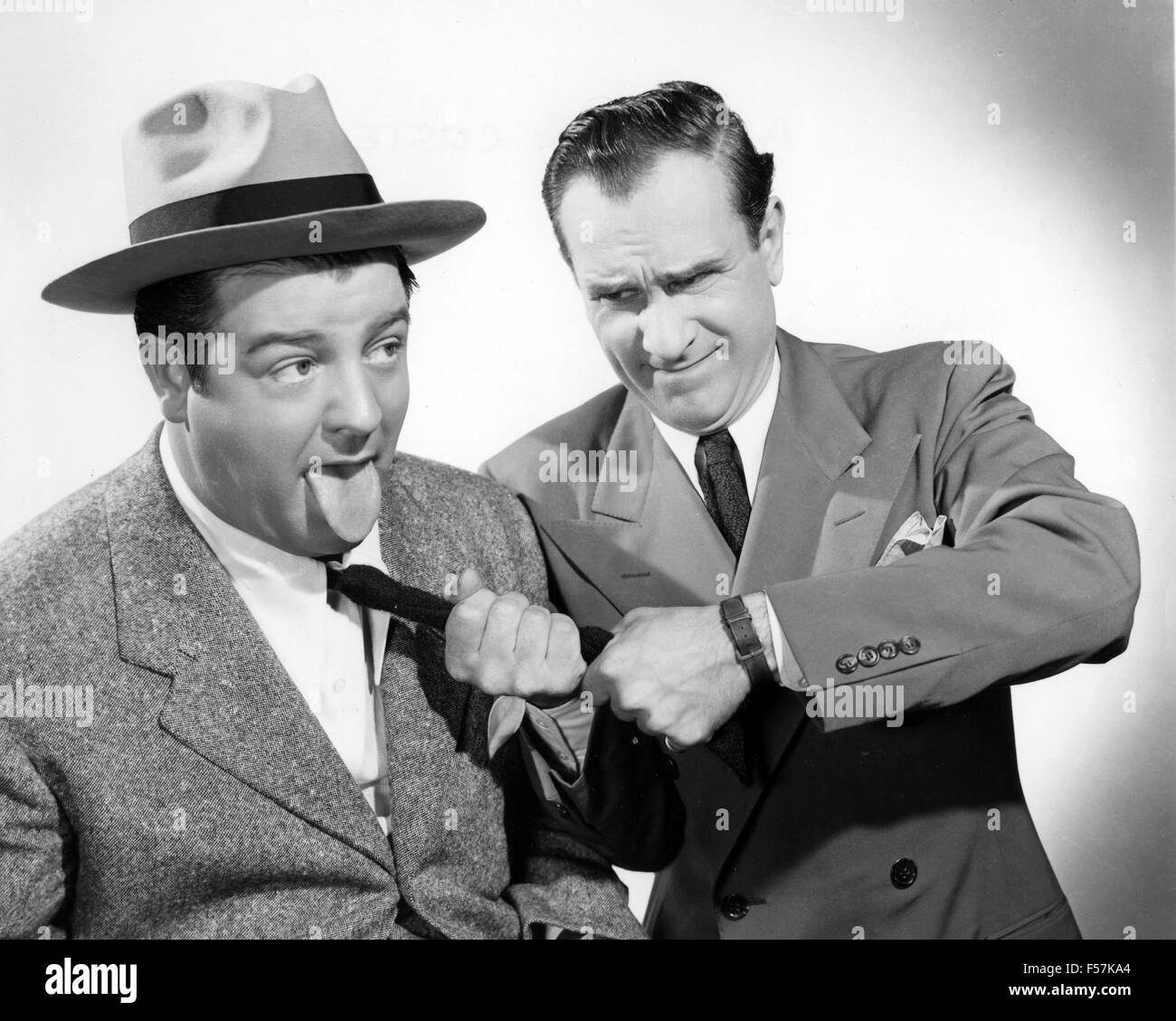 abbott and costello american film comedy duo with lou costello at