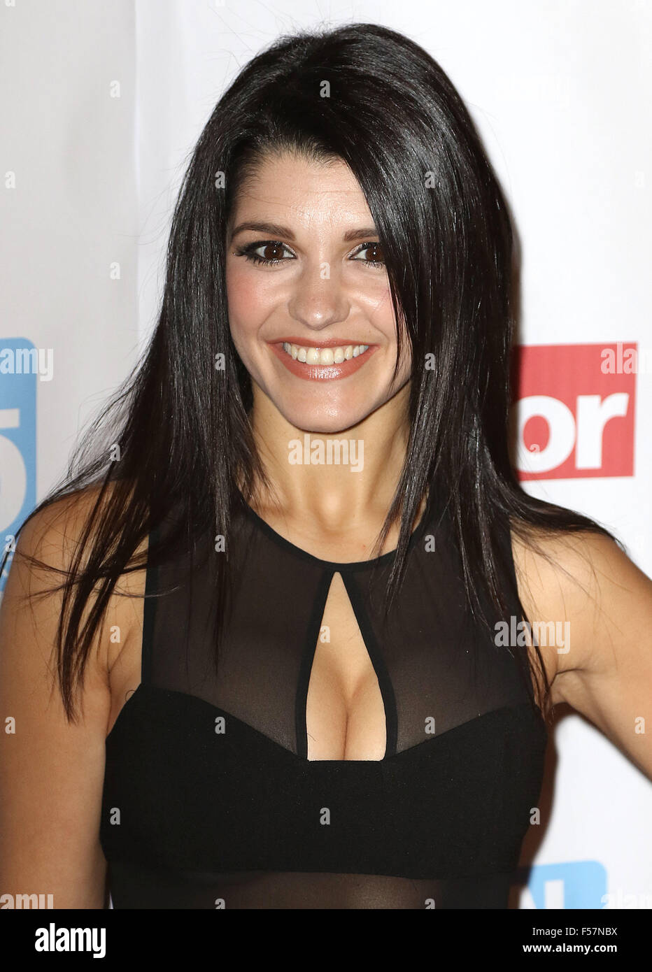 October 21, 2015 - Natalie Anderson attending the 'Daily Mirror & RSPCA Animal Hero Awards 2015' at - Stock Image