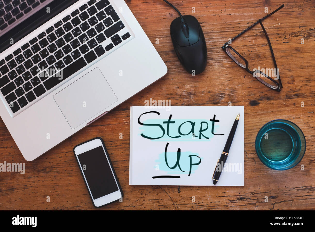 start up concept - Stock Image