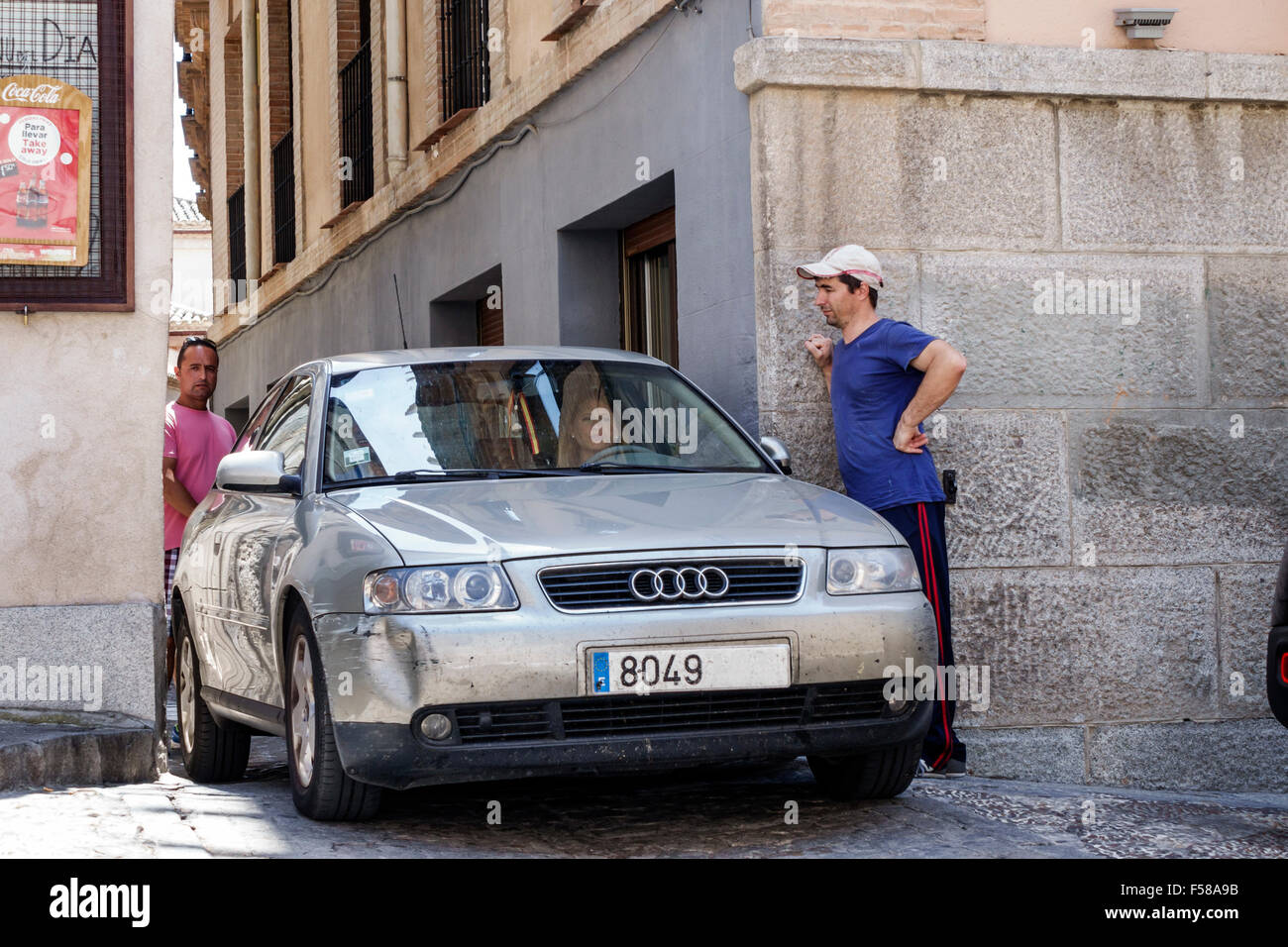 Audi Car Street Stock Photos Audi Car Street Stock Images Alamy - Audi toledo