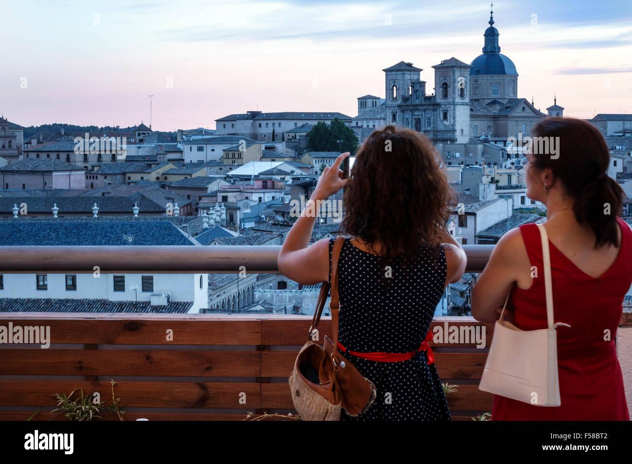 Toledo Spain Europe Spanish Hispanic Carlos V Hotel Terrace