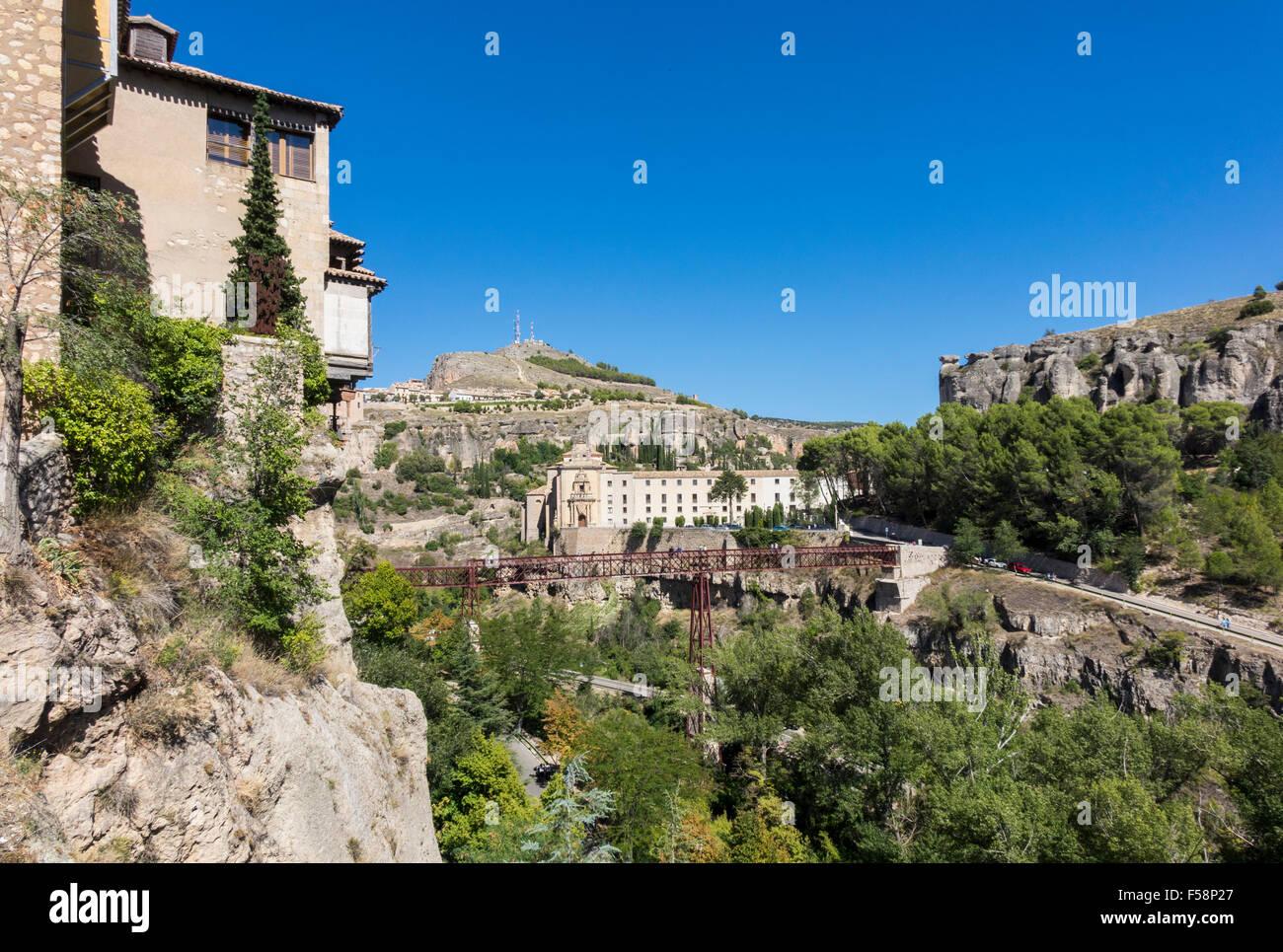 Cuenca in Castilla-La Mancha, Spain, Europe - Stock Image