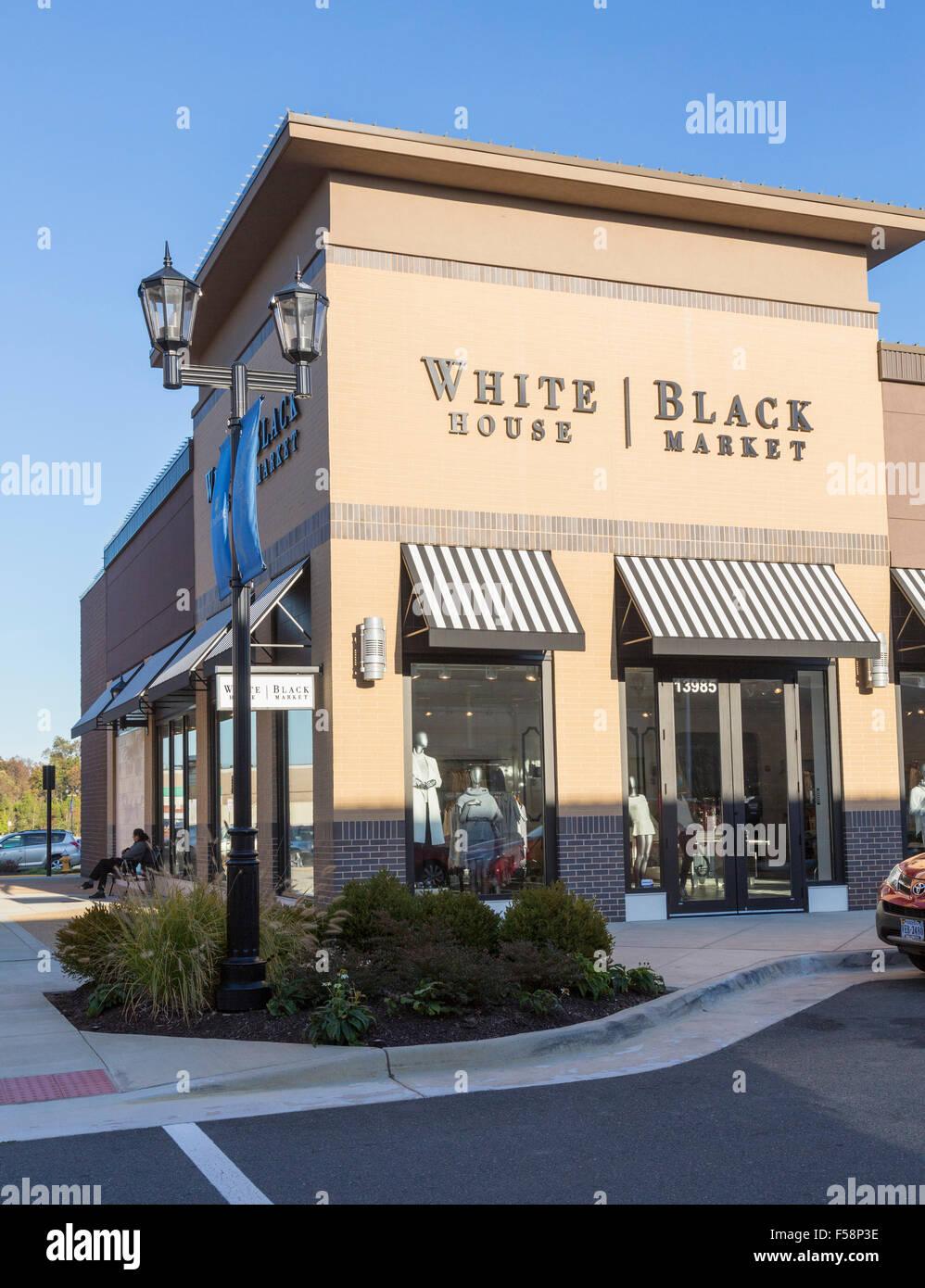 White house black market clothing store