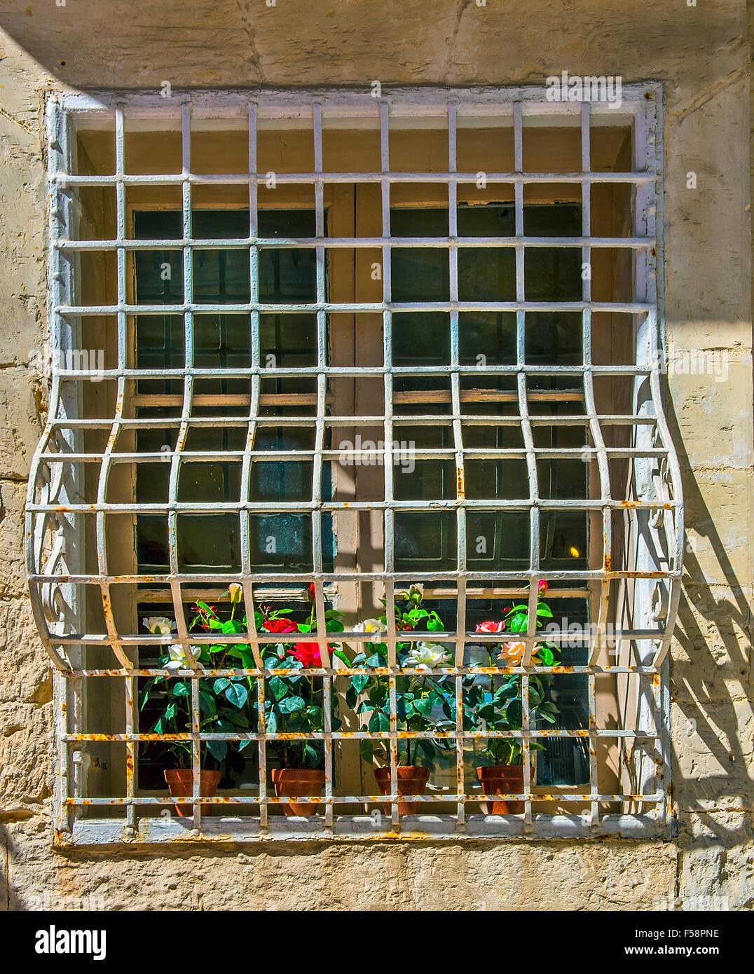 Security Bars For French Patio Doors: Burglar Bars Stock Photos & Burglar Bars Stock Images