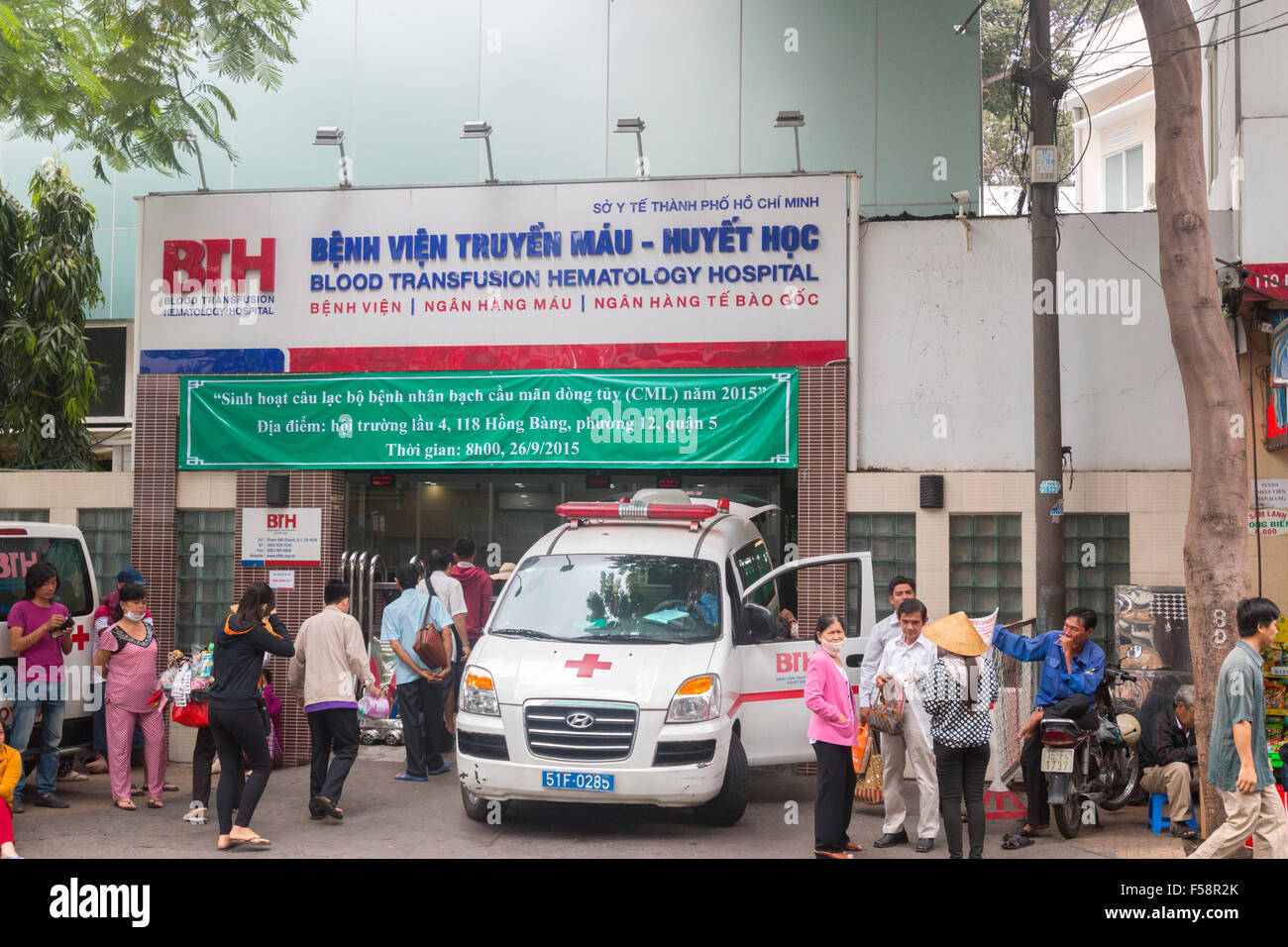 Blood transfusion hematology hospital in Ho Chi Minh city