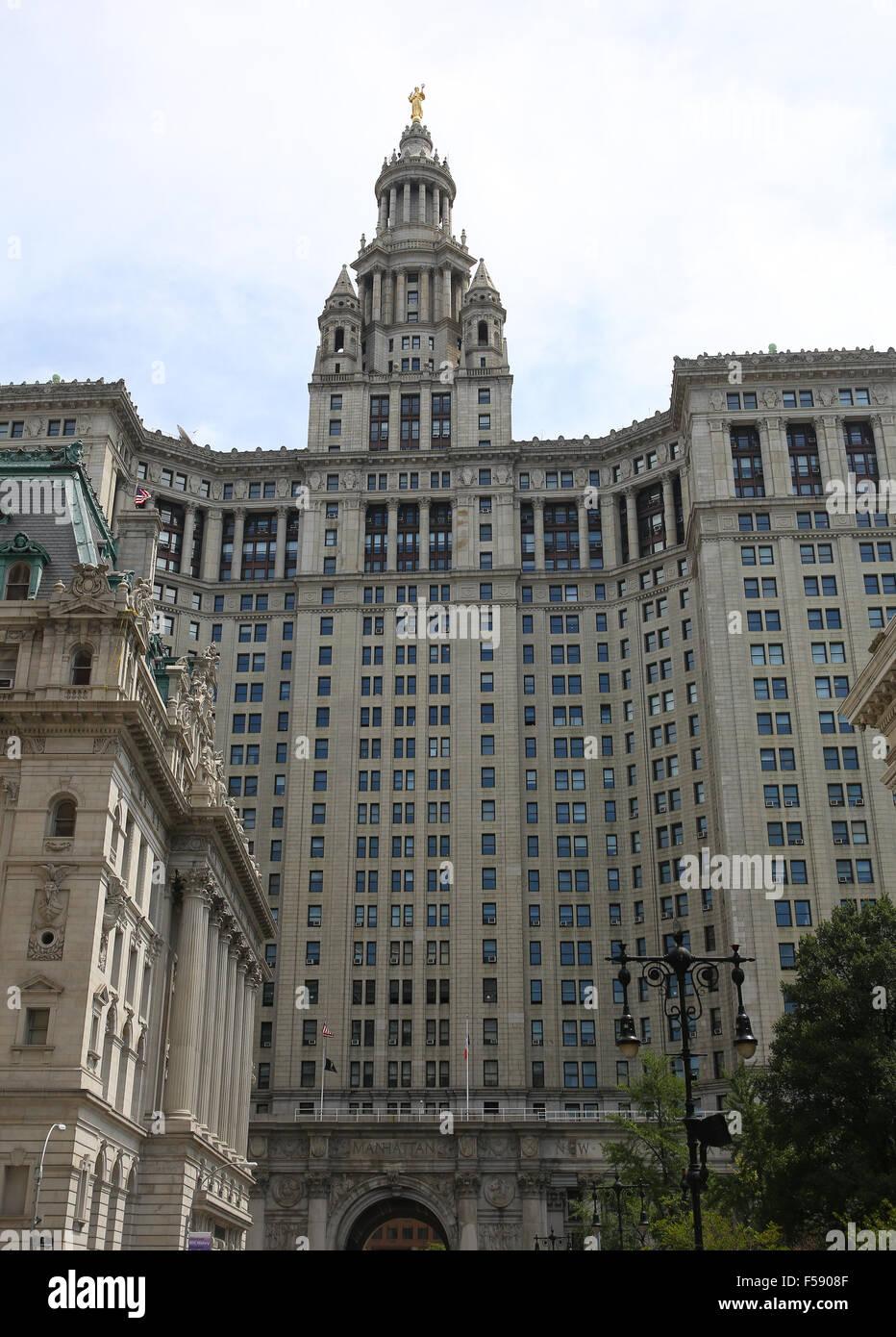 Manhattan Municipal Building: David N Dinkins Stock Photos & David N Dinkins Stock
