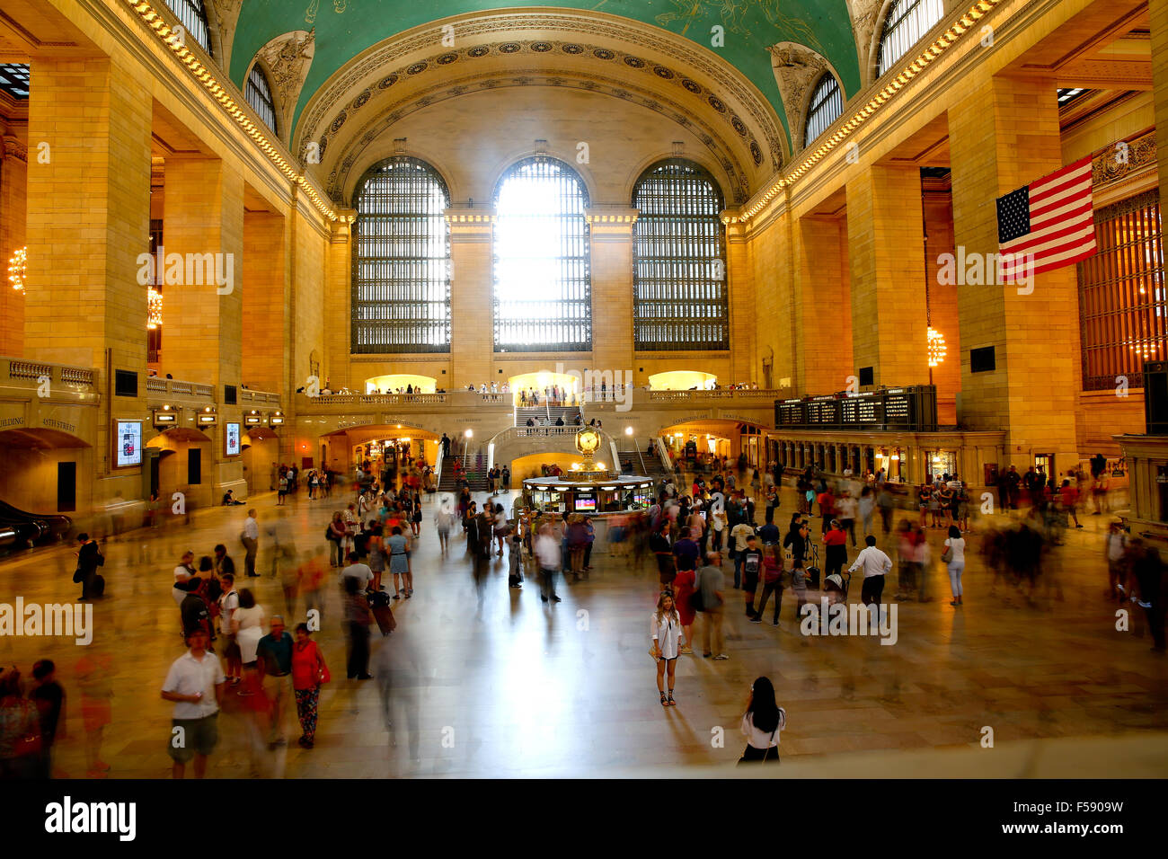 Grand Central Station in New York - Stock Image