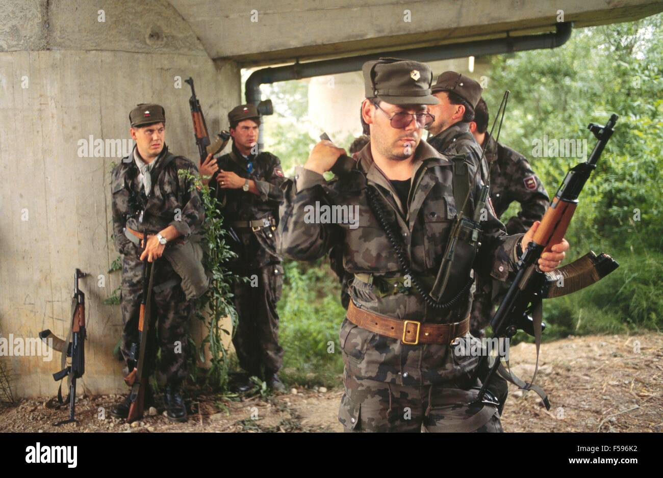 War In Ex Yugoslavia Slovenian Militia During The Independence Of July 1991
