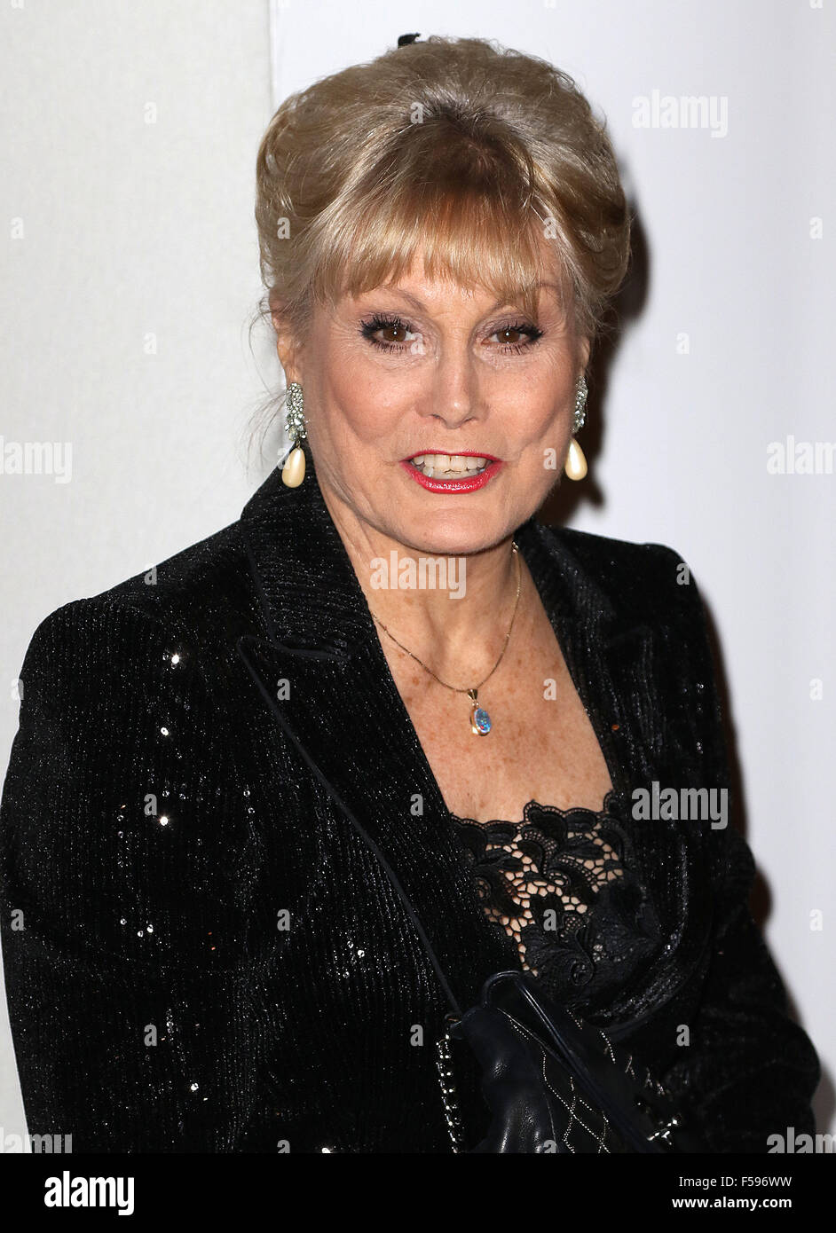 October 21, 2015 - Angela Rippon attending the 'Daily Mirror & RSPCA Animal Hero Awards 2015' at 8 Northumberland - Stock Image