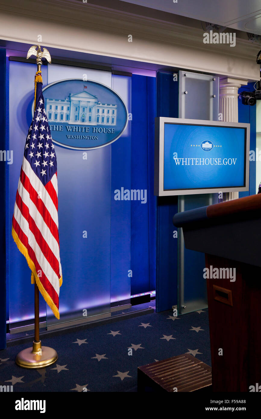 White House Press Briefing Held In What Room