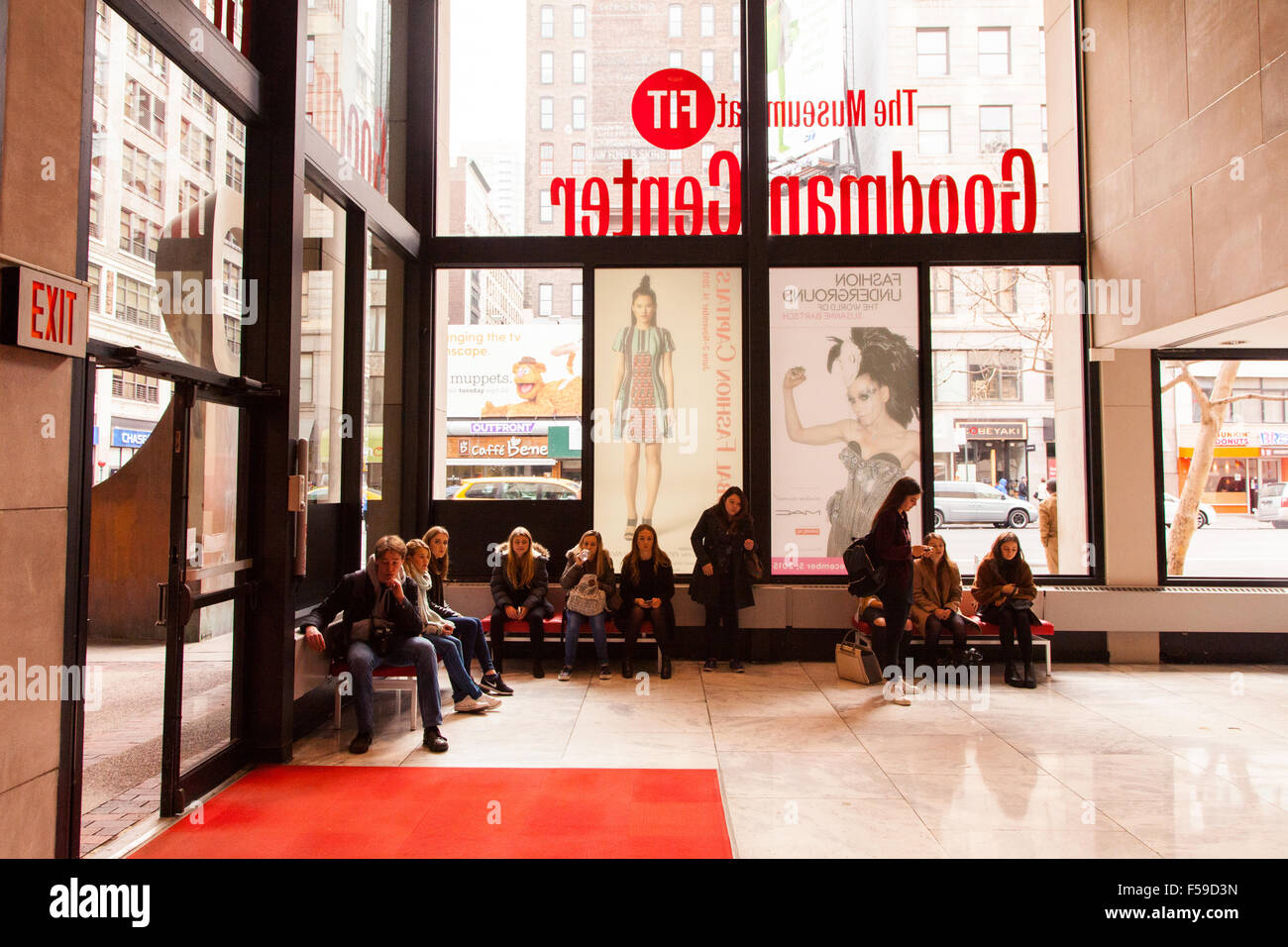 Fashion institute technology new york stock photos for Fashion museum new york