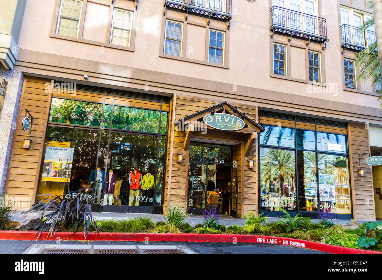 Santana Row Stores >> An Orvis Clothing Store At Santana Row Shopping Mall In San Jose