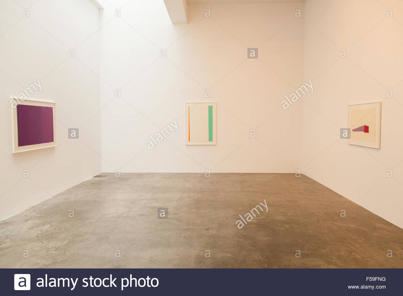 Svenja Deininger: Untitled/ Head exhibition at the Marianne Boesky Gallery, Chelsea, New York City, United States - Stock Image