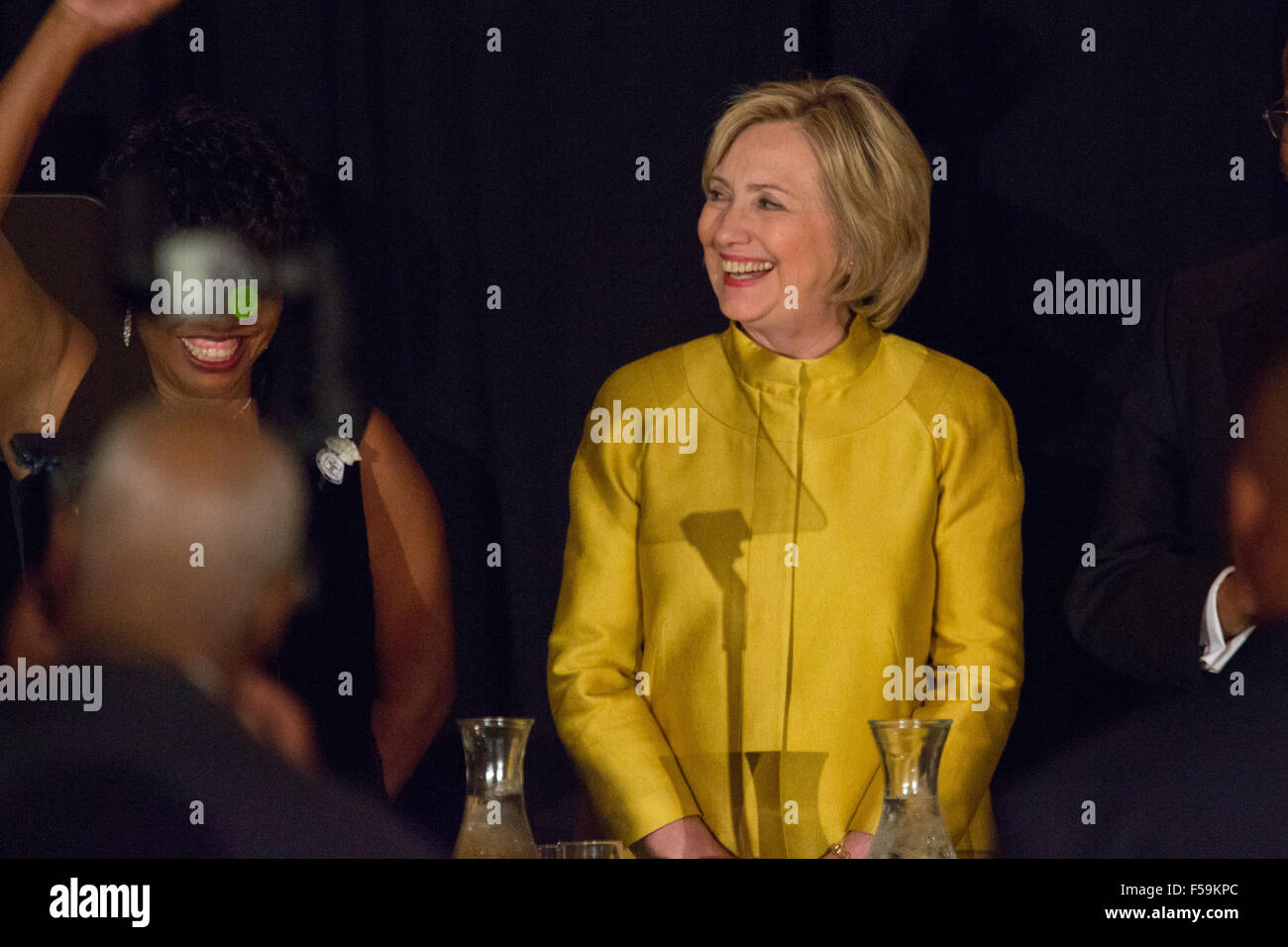Charleston, SC., USA. 30th October, 2015. Former Secretary of State and Democratic presidential candidate Hillary - Stock Image