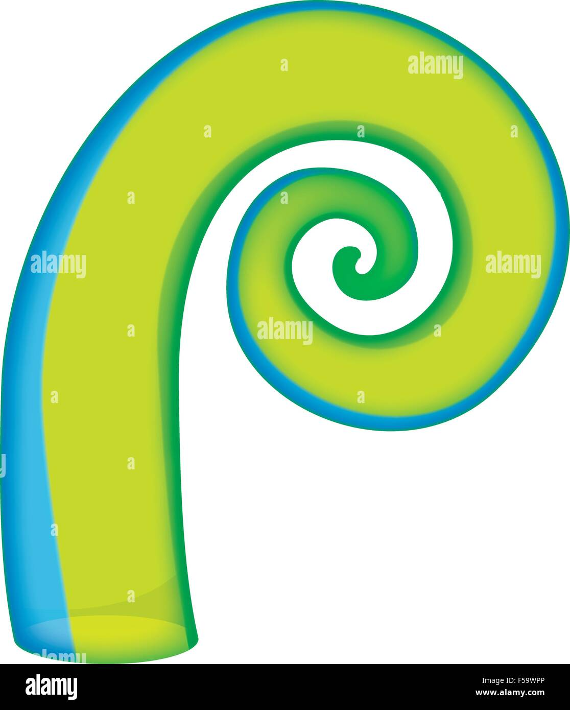 c1f9fbc721bd1 Glass Maori Koru curl ornament Stock Vector Art & Illustration ...
