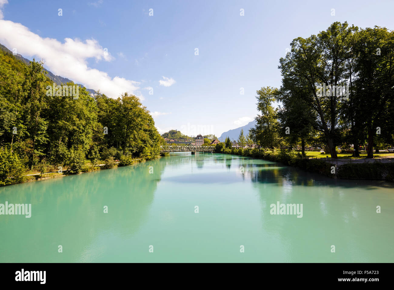 The river Aare - Stock Image