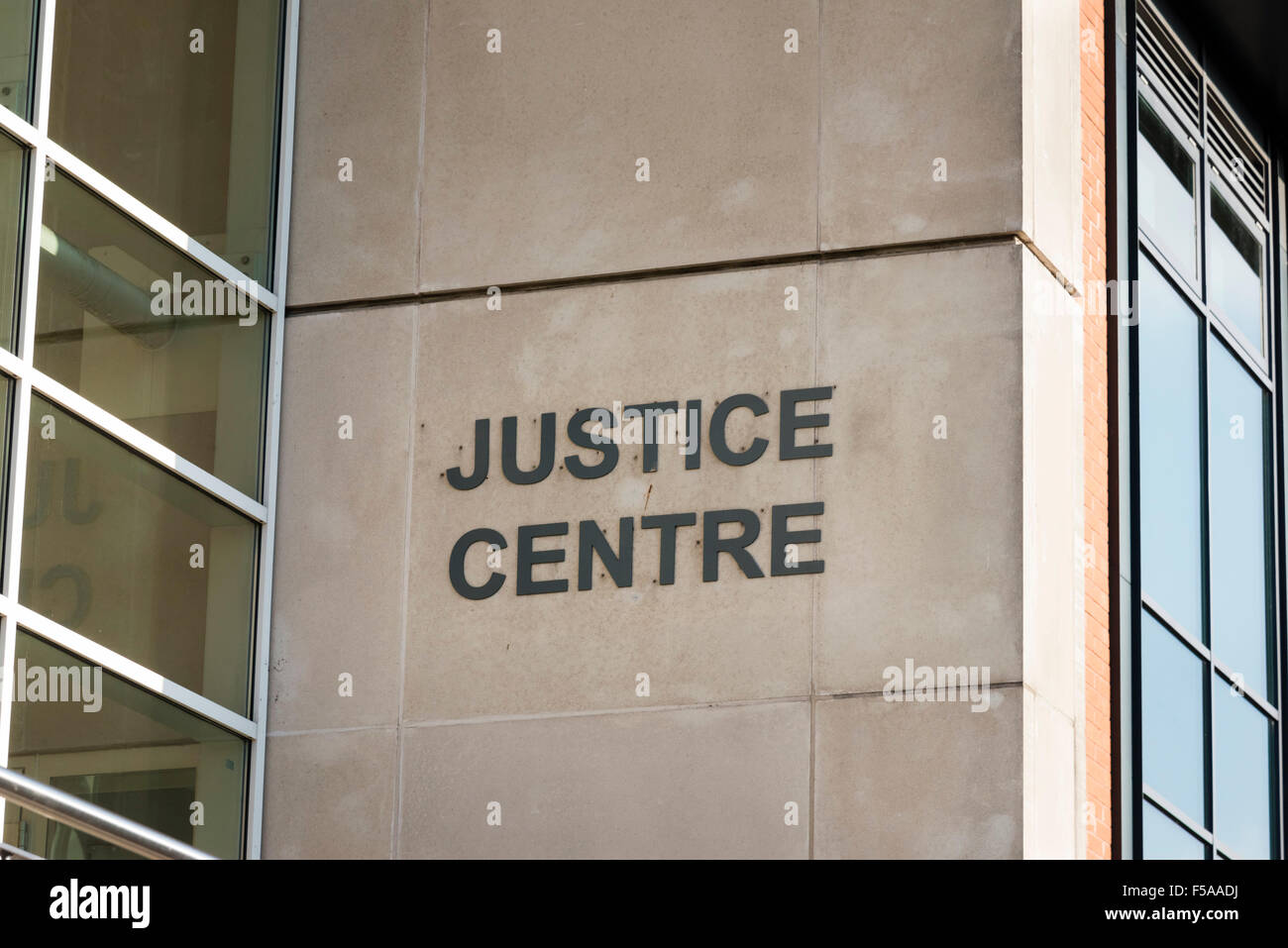 Justice Centre replaced Magistrates Court, UK. - Stock Image