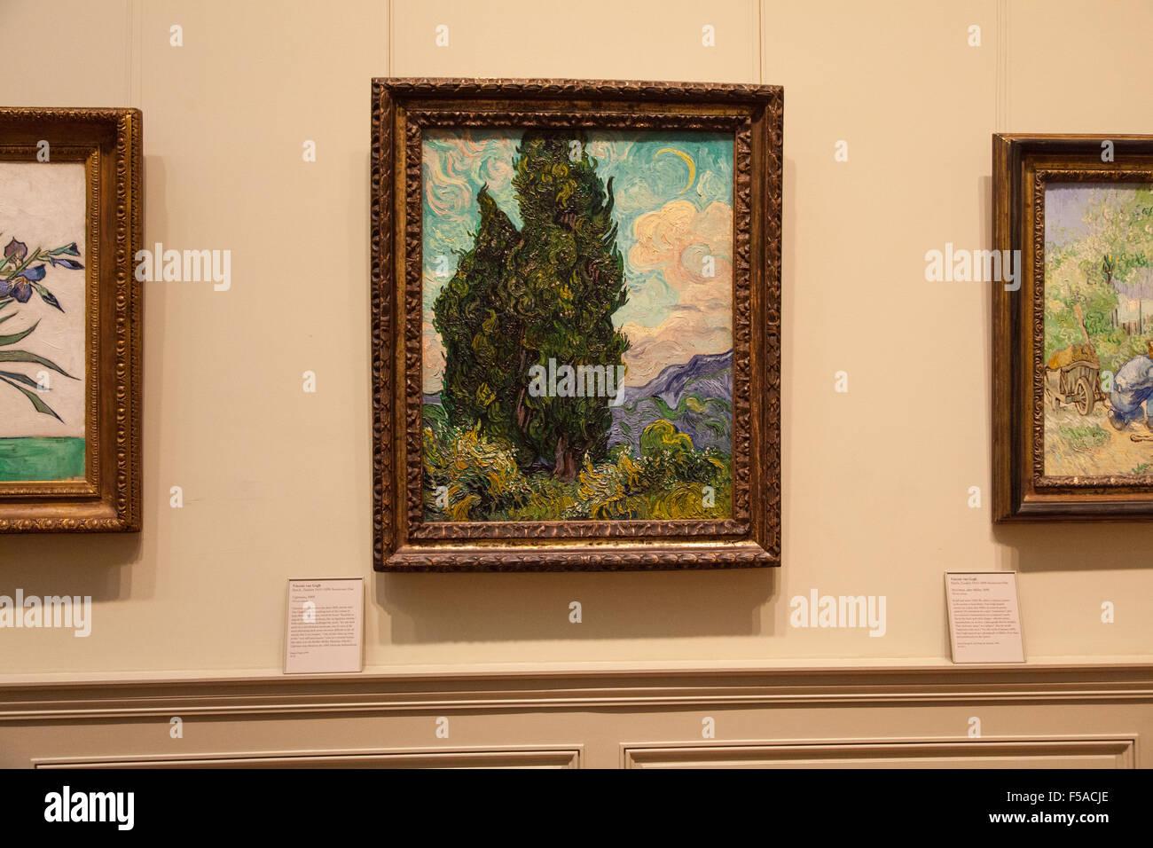 Cypresses by Vincent van Gogh (1889) at The Metropolitan Museum of ...