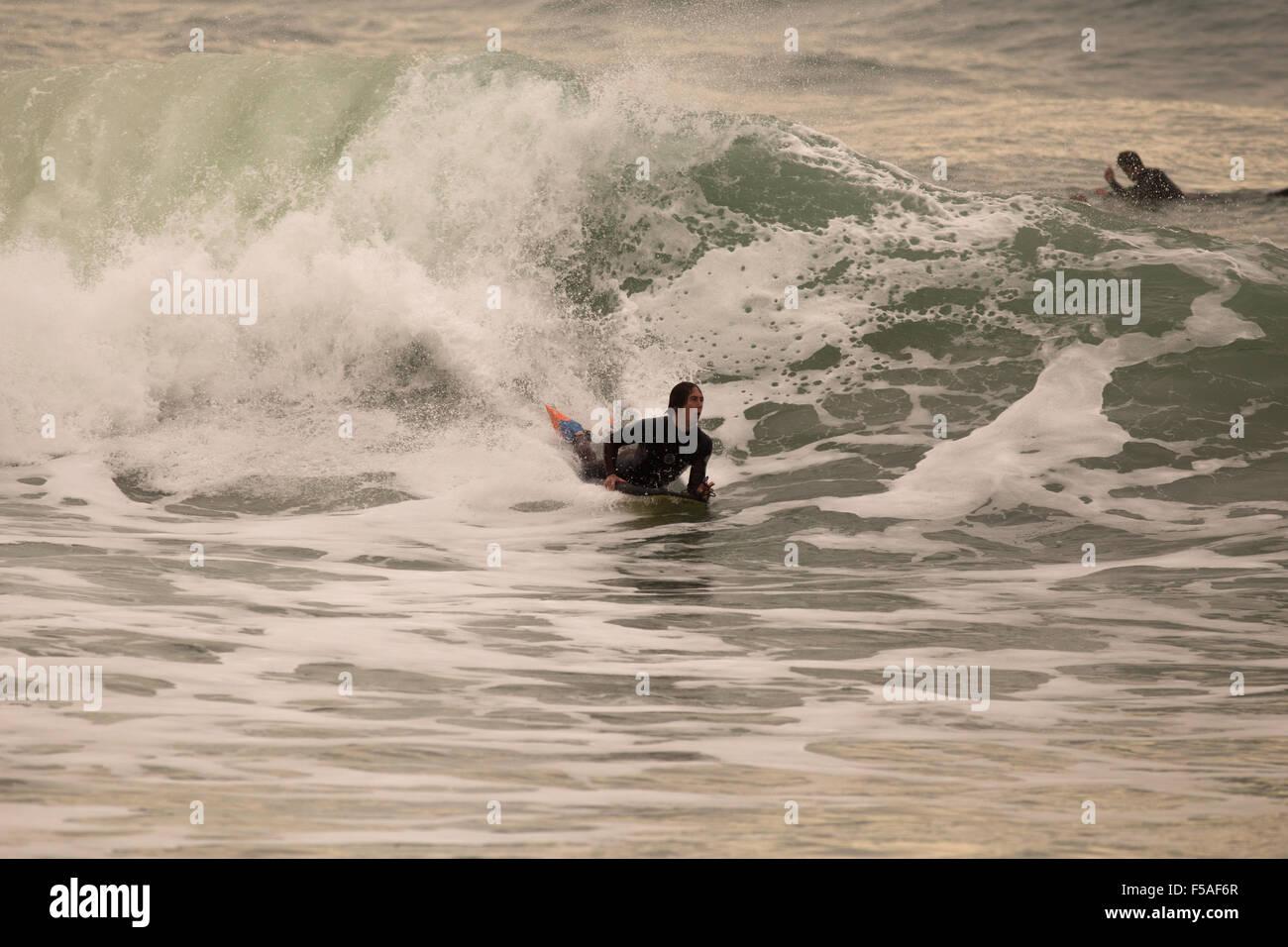 Bodyboarding - Stock Image