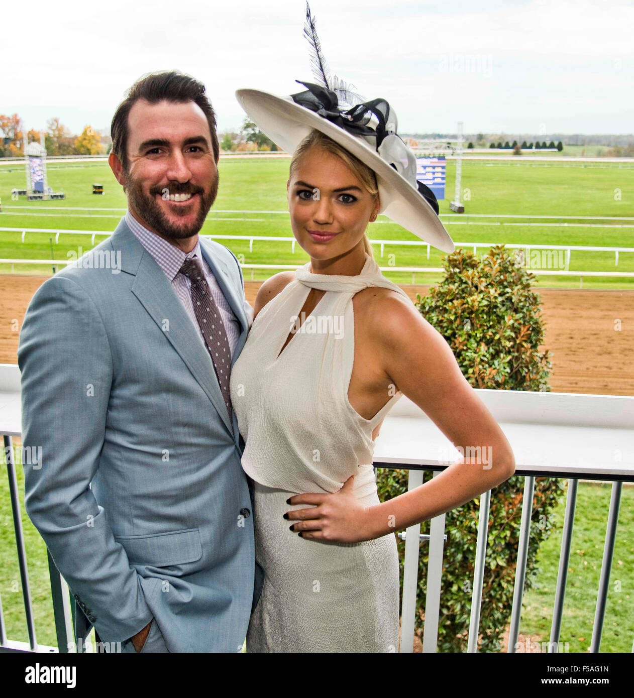 Kate Upton Breeders Cup High Resolution Stock Photography and